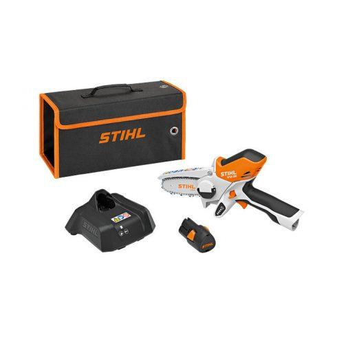 Stihl akkumlátoros láncfűrész GTA 26 (akkuval és töltővel)